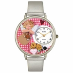 Angel Mom Watch in Silver Unisex U 1010013