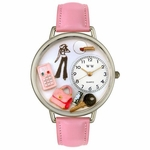 Teen Girl Watch in Silver Unisex U 1610008