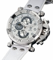 Konigswerk AQ101130G Mens White Leather Watch