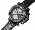 Konigswerk AQ101133G Mens Black Leather Watch