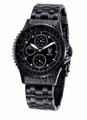 Konigswerk SQ201438G Mens Black Bracelet Watch