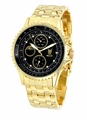 Konigswerk SQ201477G Mens Gold Bracelet Watch