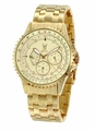 Konigswerk SQ201466G Mens Gold Bracelet Watch