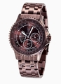 Konigswerk AQ101102G Mens Brown Bracelet Watch