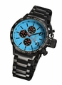 Konigswerk AQ201740G Mens Black Bracelet Watch