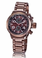 Konigswerk AQ101099G Mens Brown Bracelet Watch