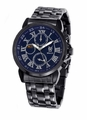 Konigswerk AQ202465-1G Mens Black Bracelet Watch