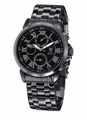 Konigswerk AQ202465G Mens Black Bracelet Watch