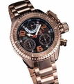 Konigswerk AQ202399G Mens Rose Gold Bracelet Watch