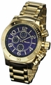 Sarastro AQ101139G Mens Gold Bracelet Watch