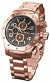 Sarastro AQ101145G Mens Rose Gold Bracelet Watch