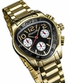 Sarastro AQ202493G Mens Gold Bracelet Watch