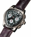 Sarastro AQ202501G Mens Burgundy Leather Watch