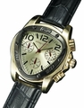 Sarastro AQ202507G Mens Black Leather Watch