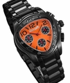 Sarastro AQ202509G Mens Black Bracelet Watch