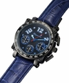 Sarastro AQ201856G Mens Blue Leather Watch
