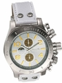 Sarastro AQ101147G Mens White Leather Watch