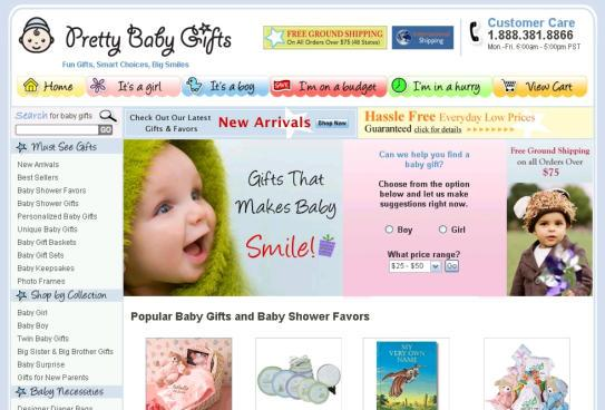 Pretty Baby Gifts