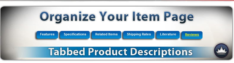 Tabbed Product Info Table