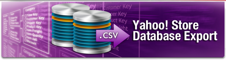 Yahoo! Store Database Export