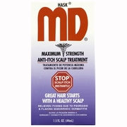 Hask MD Maximum Strength Anti-Itch Scalp Treatment 1.5oz