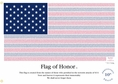 Flag of Honor - September 11th