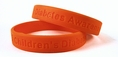 """Children's Diabetes Awareness"" Rubber Bracelet Wristband - Adult 8"""
