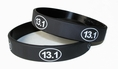 13.1 Half Marathon Training Rubber Wristband - Adult 8""