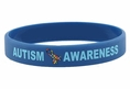 """Autism Awareness"" Rubber Bracelet Wristbands"