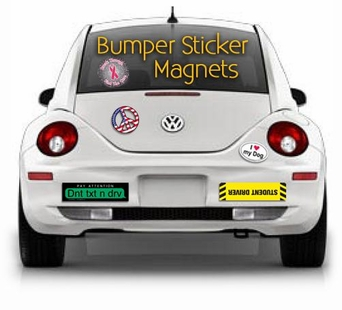 Bumper Sticker Magnets