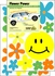 Flower Power Daisy Car Magnet Set