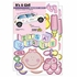 It's a Baby Girl Car Magnet Set
