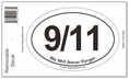 September 11th Sticker Decal - Oval
