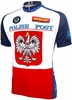 Polish Postal Service Team Cycling Jersey Free Shipping