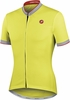 Castelli GPM FZ Tech Yellow Cycling Jersey Free Shipping