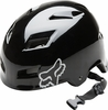 Fox Matte Black Transition Hard Shell Bike Helmet Free Shipping