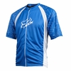 Fox Live Wire Blue and White Cycling Jersey