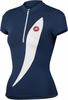 Women's Elegante Navy Blue Cycling Jersey