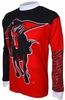 Texas Tech Red Raiders Long Sleeved Bike Jersey