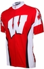 University of Wisconsin Badgers Cycling Jersey Free Shipping