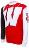 Wisconsin Badgers Long Sleeved Bike Jersey
