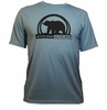 Men's Active Bear Peformance Shirt - Agave Blue