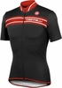 Castelli Prologo 3 Cycling Jersey Black and Red