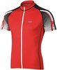 Louis Garneau Carbon Ion Red Cycling Jersey Free Shipping
