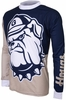 Georgetown Hoyas Long Sleeved Bike Jersey