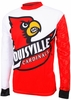 Louisville Cardinals Long Sleeved Bike Jersey