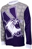 Northwestern Wildcats Long Sleeved Bike Jersey