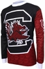 South Carolina Gamecocks Long Sleeved Bike Jersey