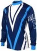 Villanova Wildcats Long Sleeved Biking Jersey