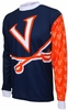 Virginia Cavaliers Long Sleeved Bike Jersey